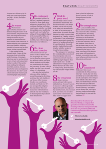 behaviourbuddy article published in teach primary magazine